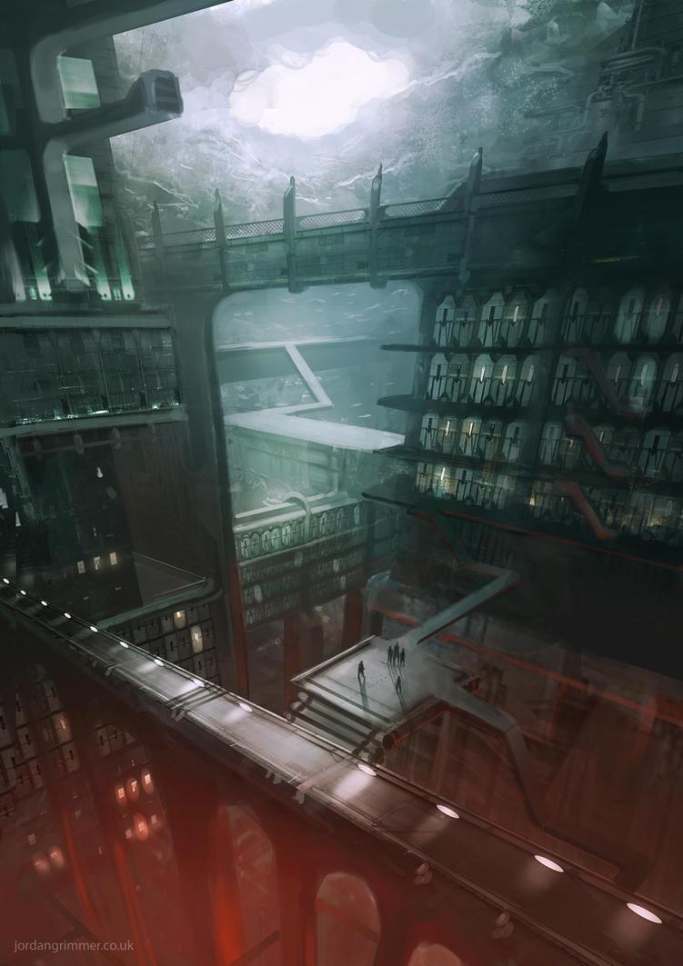 Underground Prison by jordangrimmer