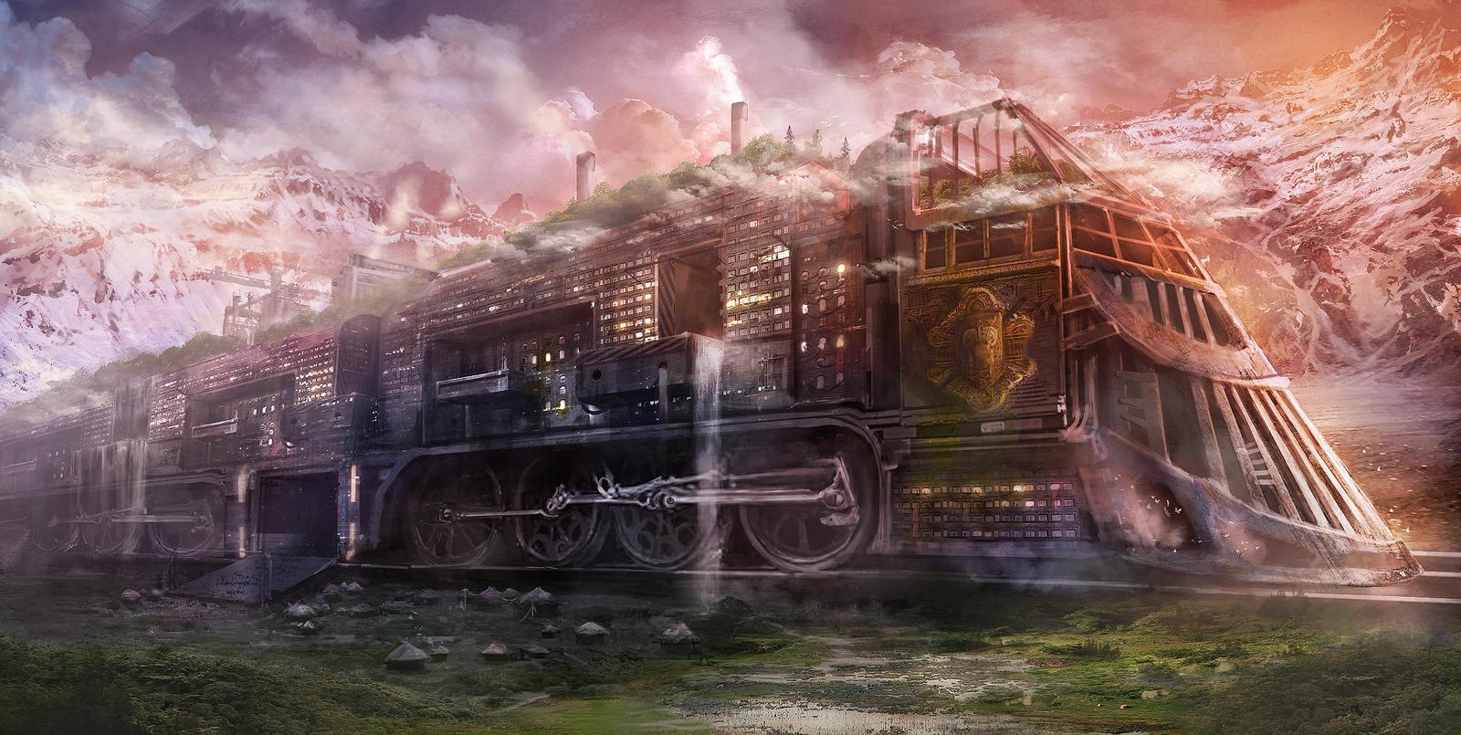 Rail City by jordangrimmer