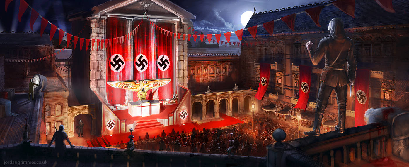 Nazi Hunter by jordangrimmer