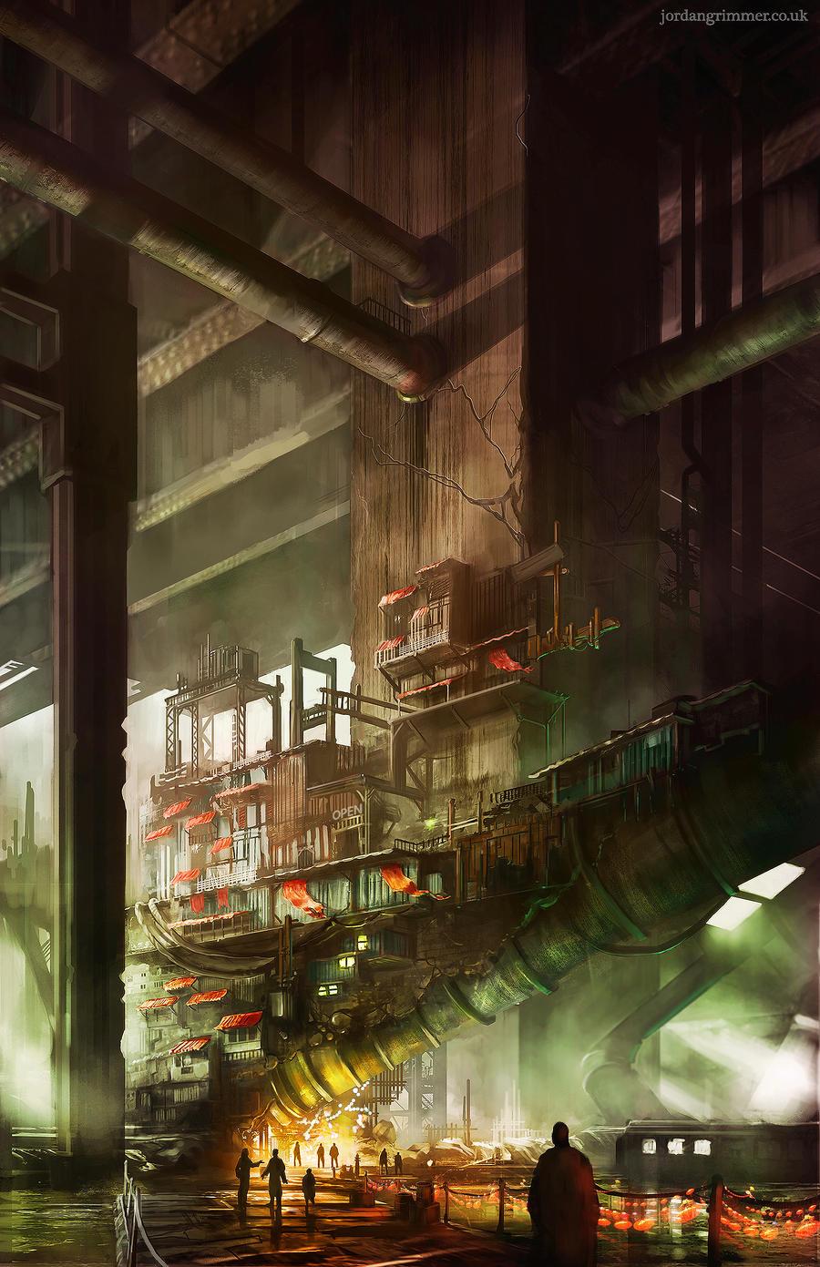 Sector 5 Slums by jordangrimmer