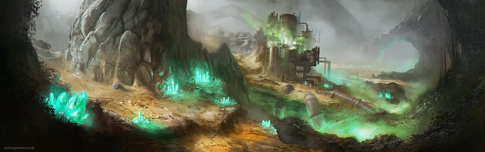 Nibelheim Reactor by jordangrimmer