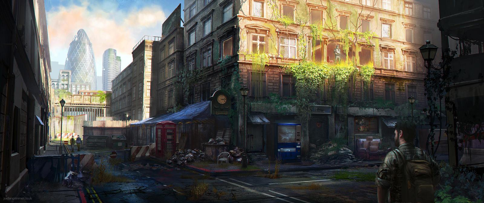 London Quarantine Zone by jordangrimmer
