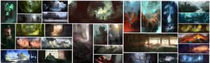 30 Minute Speed-Paintings
