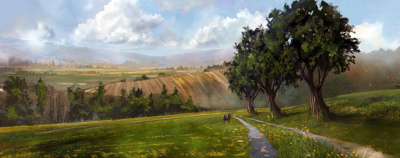 Hilltop by jordangrimmer