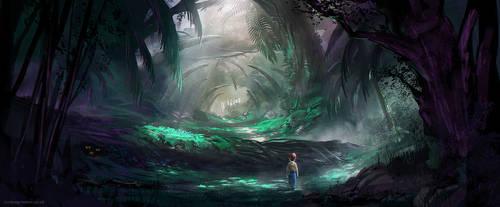 Deep Dark Wood by jordangrimmer