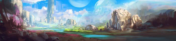 Valley by jordangrimmer