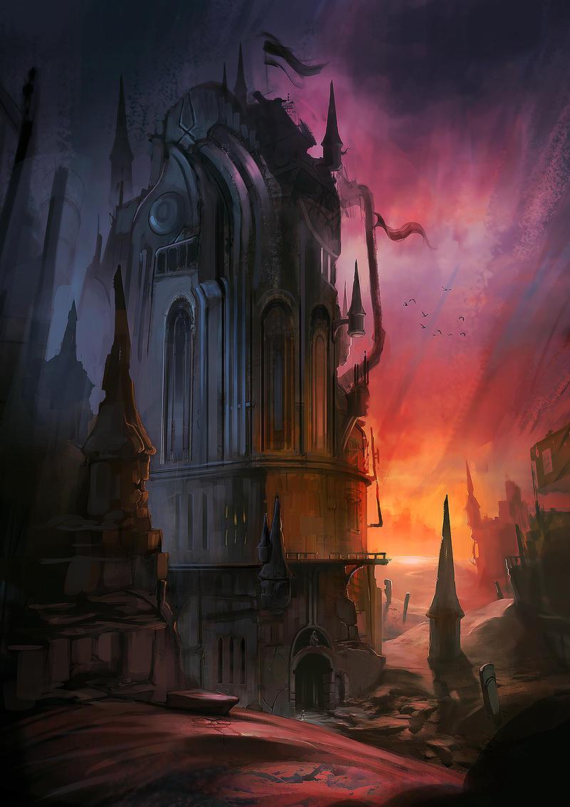 Vampire Tower By Jordangrimmer