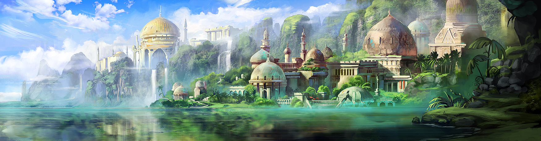 Jungle City by jordangrimmer