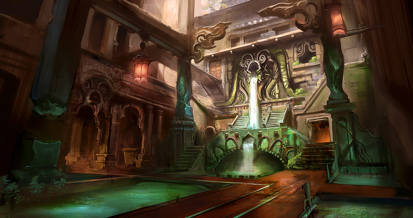 Flooded Temple