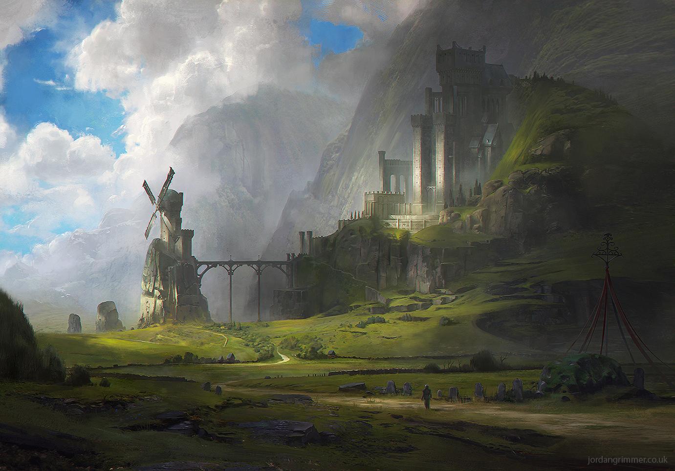 Ventus Castle by jordangrimmer