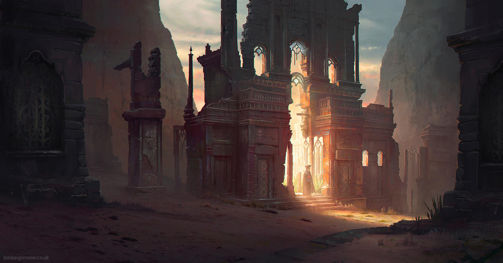 Broken Gate by jordangrimmer