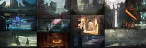 Recent Sketches by jordangrimmer