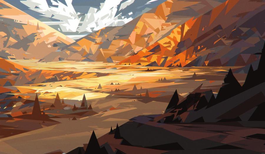 Yellow Mountain by jordangrimmer
