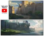 Landscape Sketching Process Videos