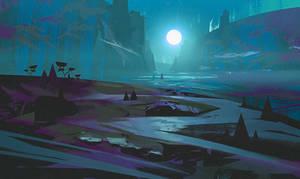 Dark Valley by jordangrimmer