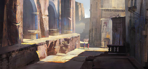Alleyway + Process by jordangrimmer