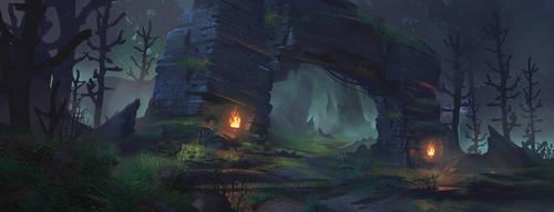 Forest Ruins: Concept Art Process