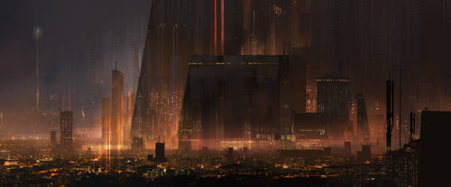 Dark City by jordangrimmer