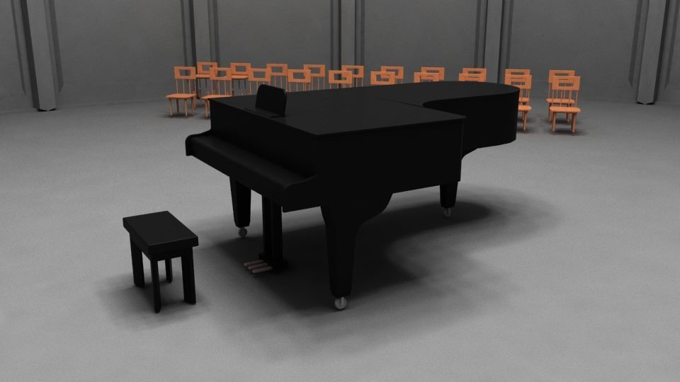 The Piano by 0101dan0101