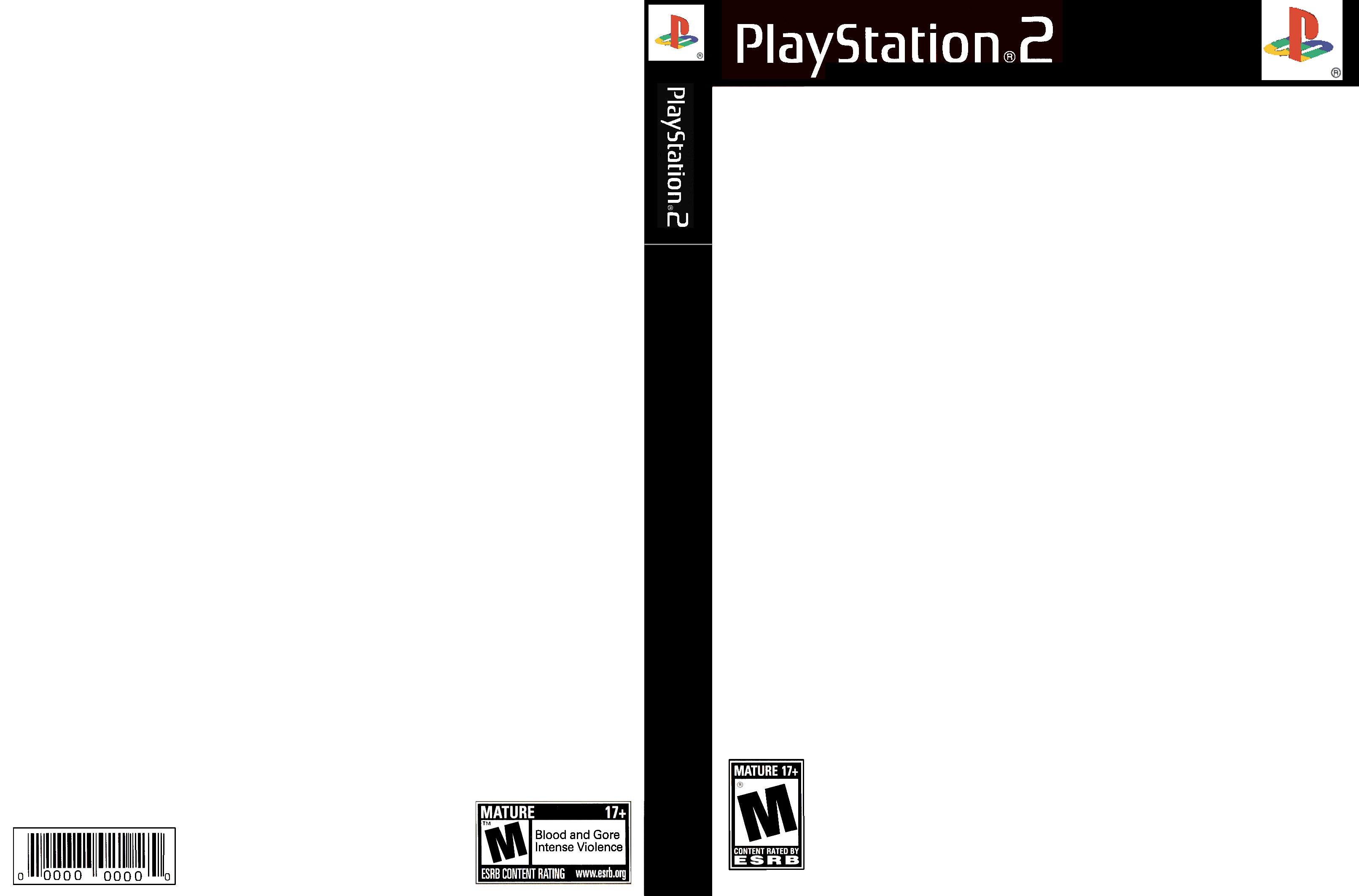 ps2 game full cover template by reddog-f6 on DeviantArt