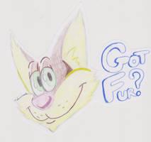 Got Fur? Badge