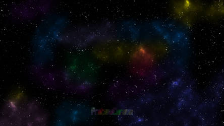 Starry Sky (ProteusChroma Wallpaper Series) by MinervaXcel