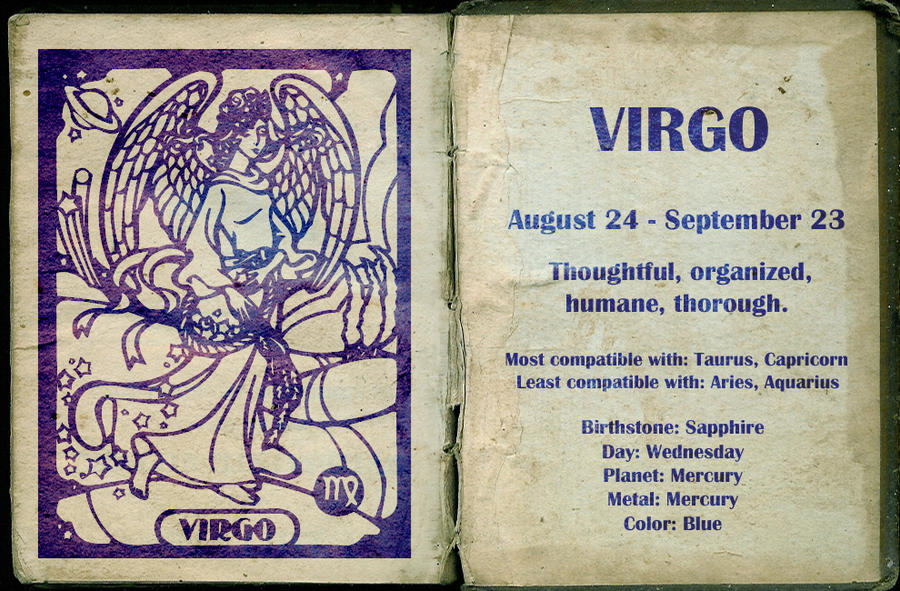 Virgo by Miss--Dee