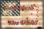 God bless the USA?