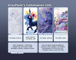 Commission info: CLOSED by GrayPaint