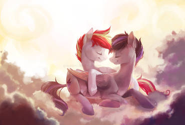 Snuggles by GrayPaint