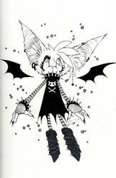 OC: Gypsy the bat by ihavenobananas