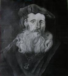 guy with a velvet cap by ihavenobananas