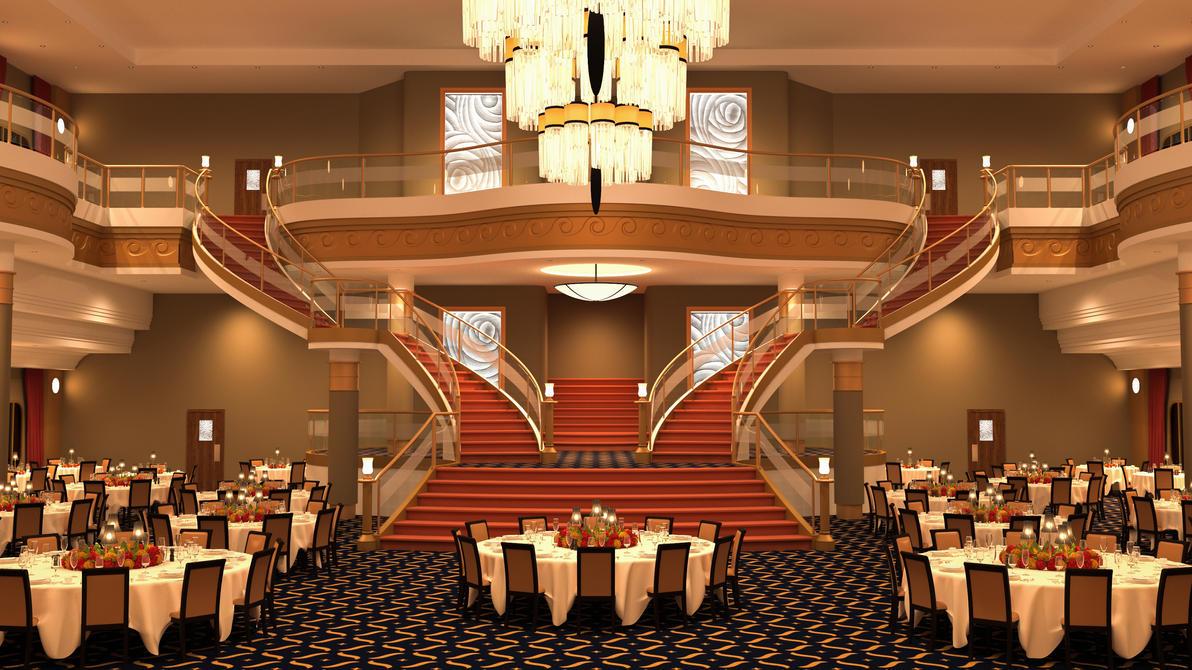 Poseidon Ballroom (Remake) by GabrielAuger