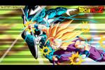gohan vs cell jr