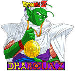 Piccolo with toriyama's medal