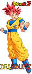 Son Goku SSJ GOD by DrabounZ