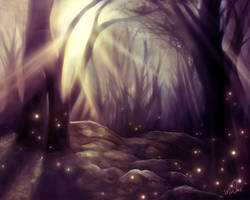 Mysteric Forest by meteormandy