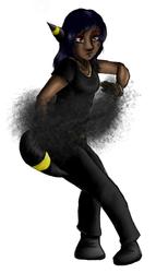 Umbreon Shadowbender by AlleyCatUmbz