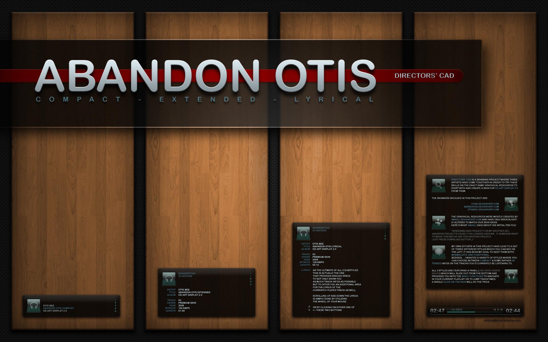 --Directors' CAD- AbandonOtis by OtisBee