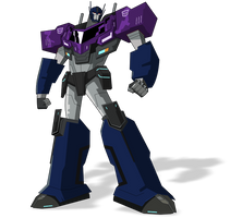 Optimus Prime (Shattered Glass) by Cetory