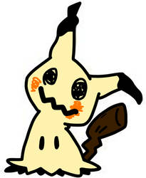 Mimikyu by AnimeAngelArtist1990