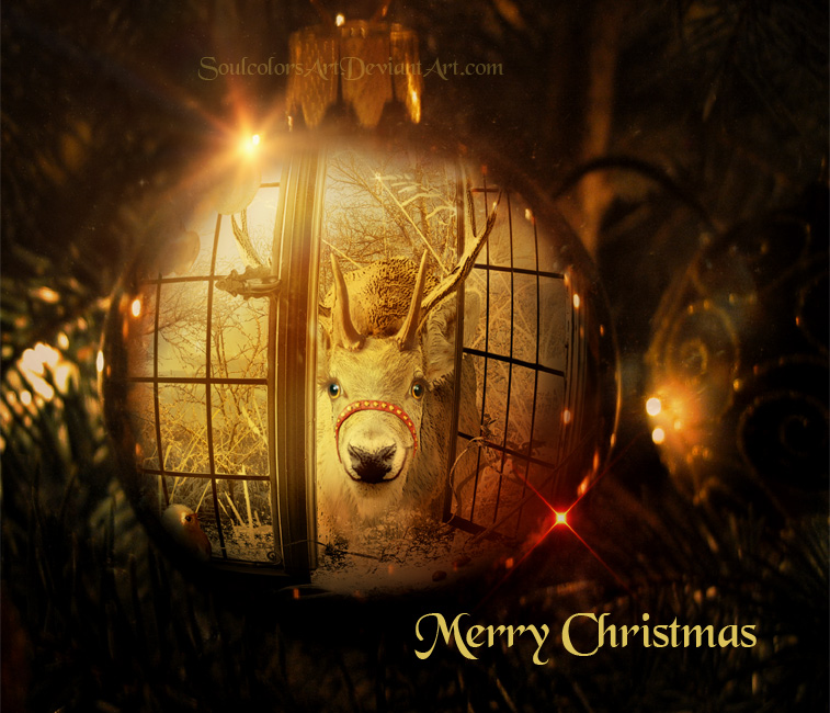 Merry Christmas to all my friends by SoulcolorsArt