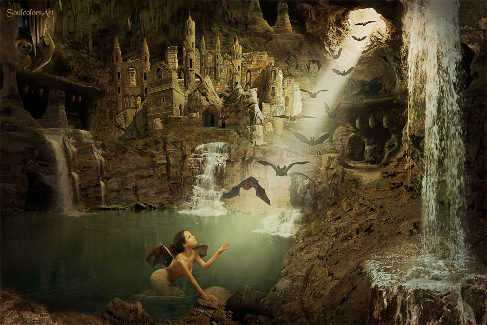 Underground Town by Peroline and SoulcolorsArt by SoulcolorsArt