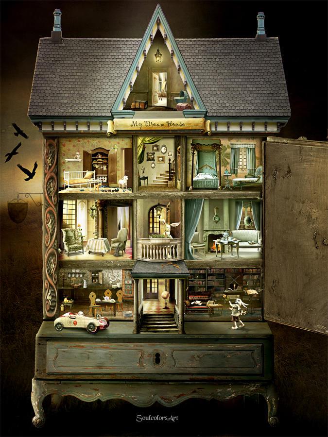 Dollhouse by SoulcolorsArt
