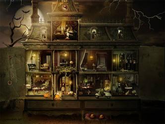Dollhouse Halloween