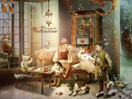 Vintage Valentine by SoulcolorsArt