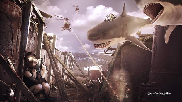 Alien Shark Attack