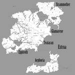 The Withering Chronicles - Map of Estrua
