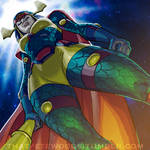 Lunchtime Sketch- Big Barda by petewoods