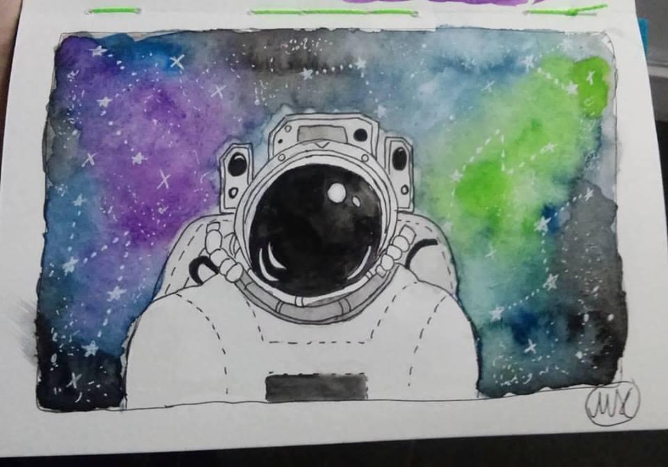 Galaxy by hidingmymess